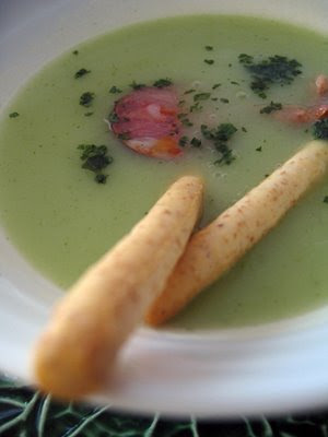 Potato Cilantro Soup from Suzana at Home Gourmets blog