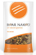 Photo of a bag of really pricey granola, courtesy of the Bear Naked Granola web site.