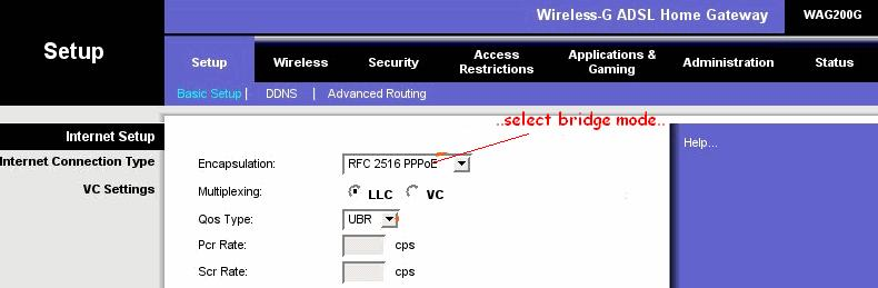 Router The Basic Network Setup Is In The Following Diagram