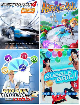 Nokia Fans Club Gameloft Game Pack For S60v5 Games 5800