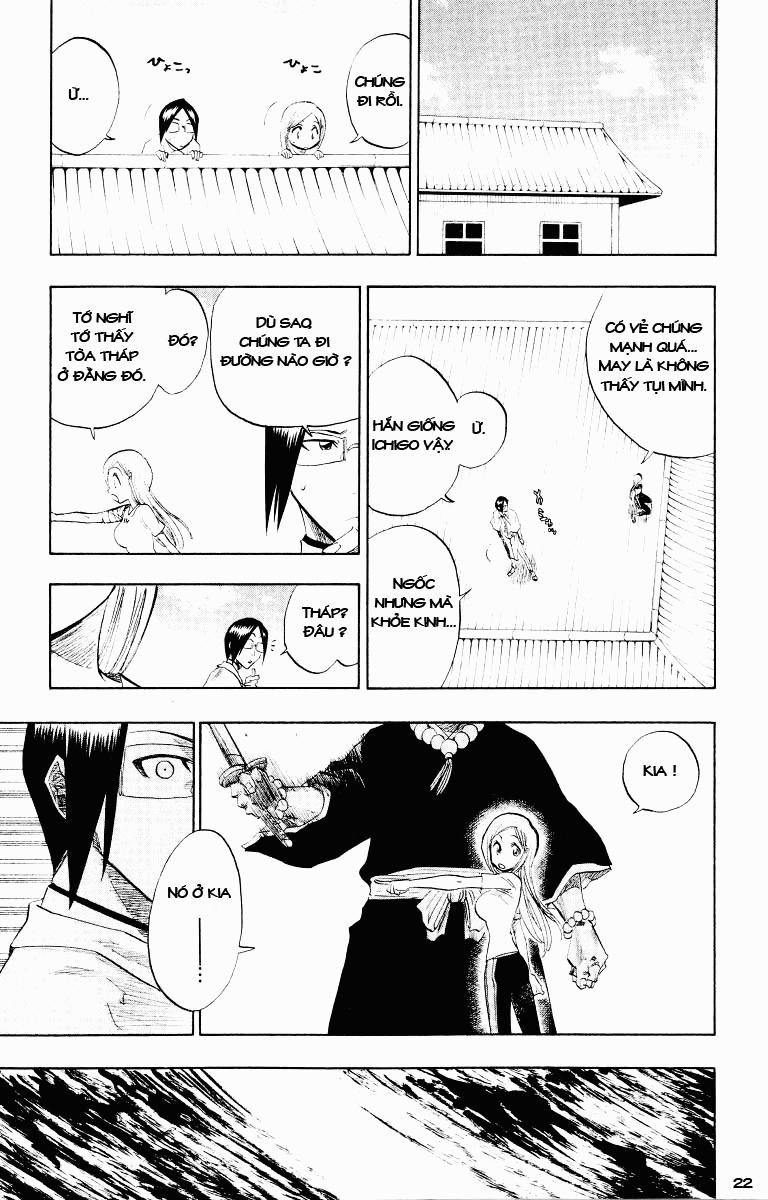 Bleach chapter 89 trang 22