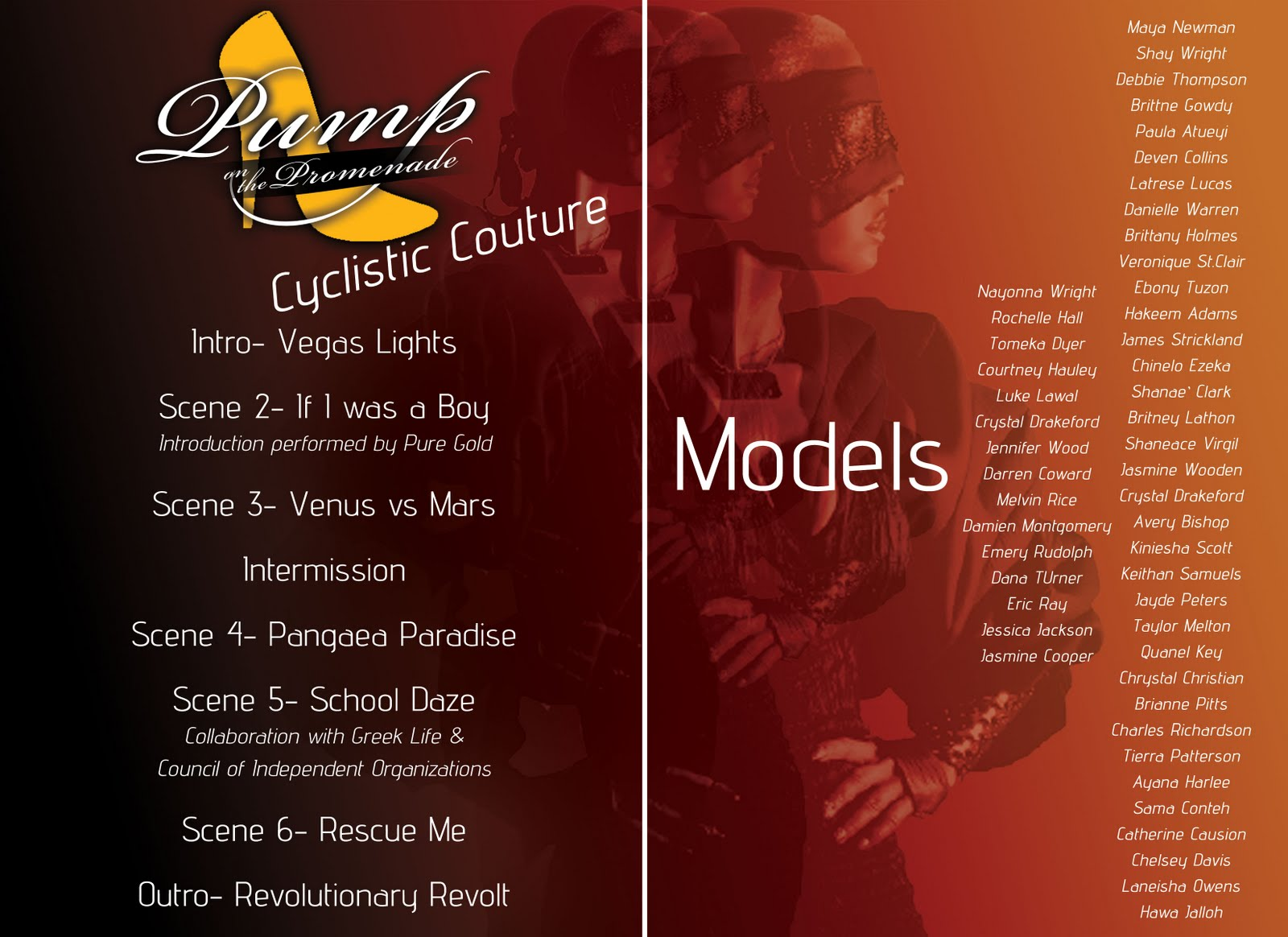 Fashion Show Program Template Free Download