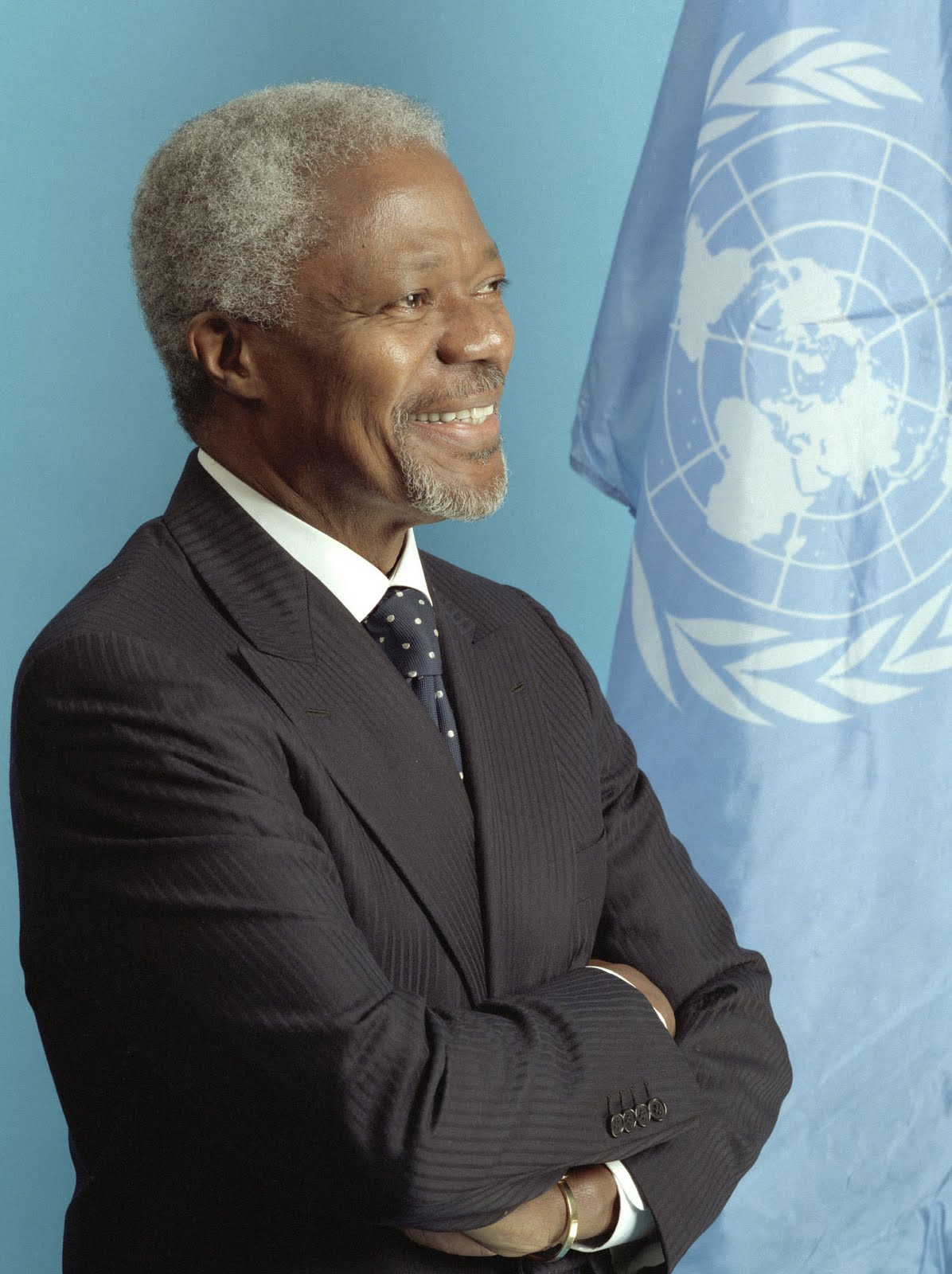 KOFFI ANNAN THE 7TH SECRETARY-GENERAL OF THE UNITED NATION ...