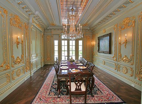 Wall Panels For Living Room Furniture Tables Lennon Ledbetter's Utah Dream Mega-mansion | Homes Of The Rich