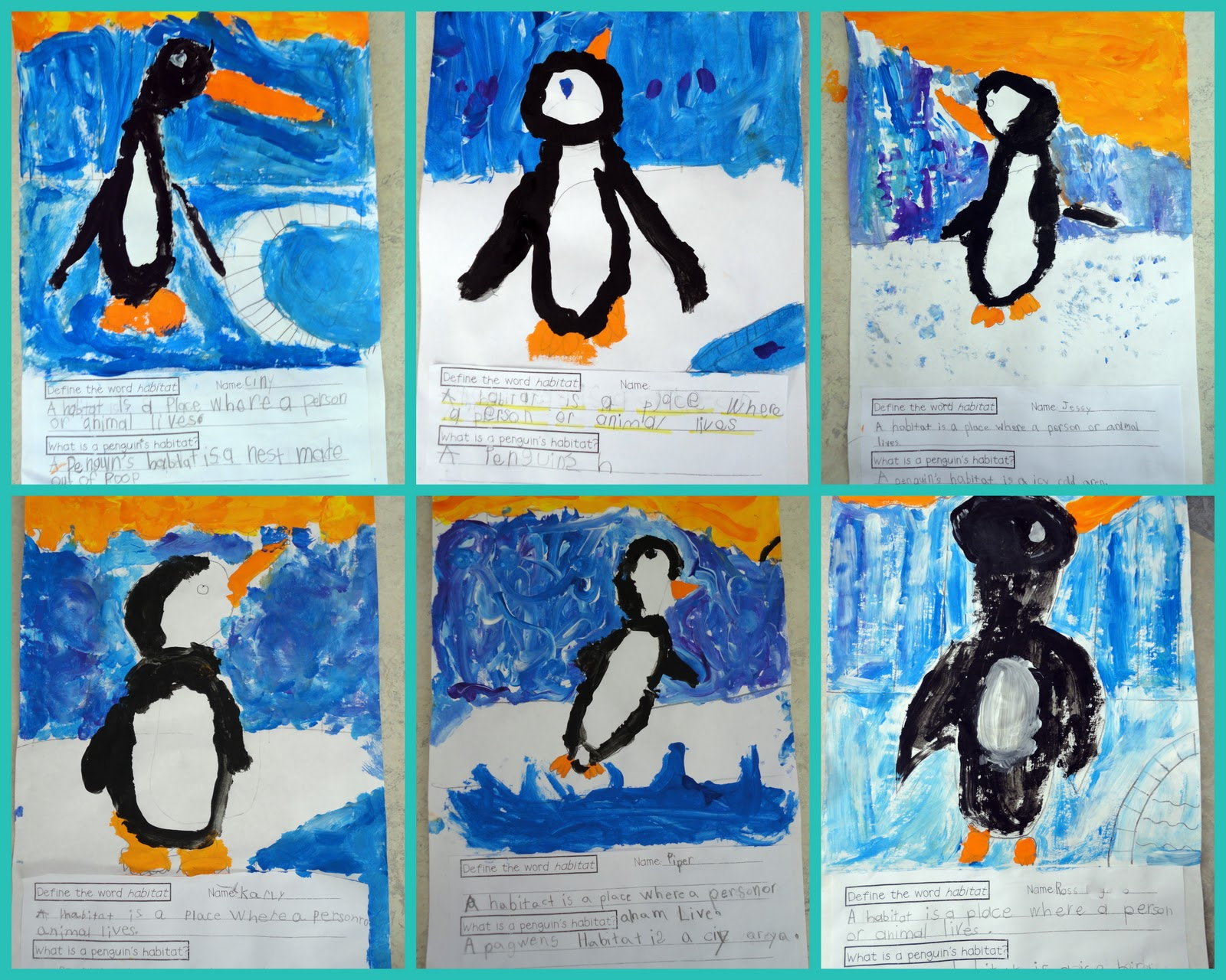 Babbling Abby Penguin Unit For First Grade