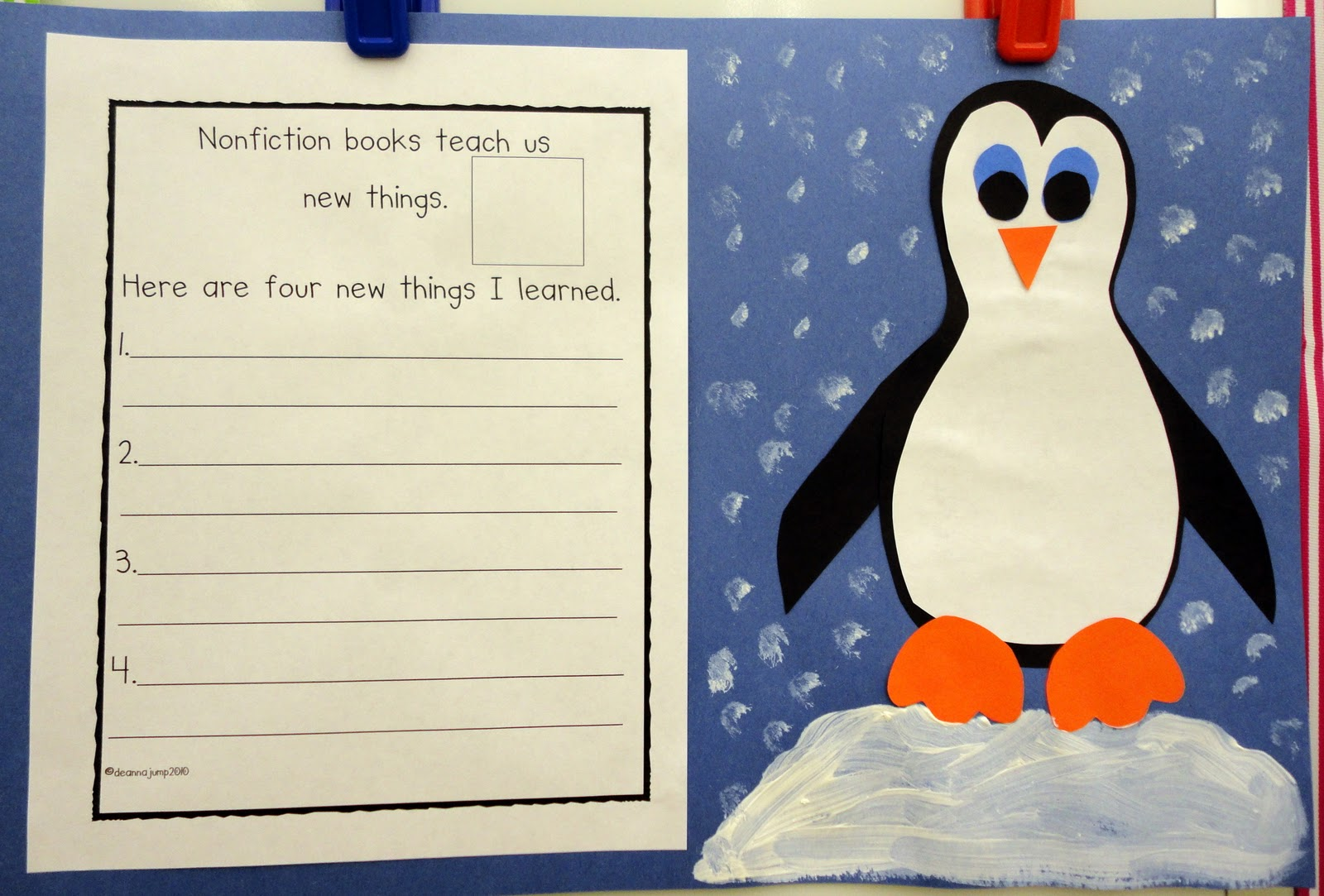 My Popper S Penguins Worksheet   Printable Worksheets and Activities for  Teachers [ 1083 x 1600 Pixel ]