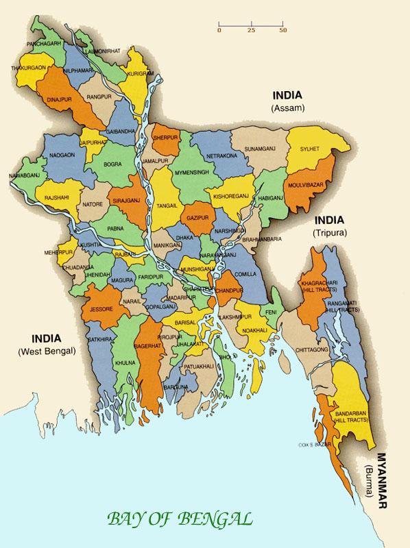 Keonk Badunk: map of bangladesh