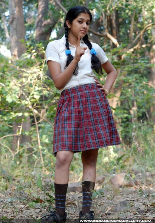actress fresh: actress in school dress