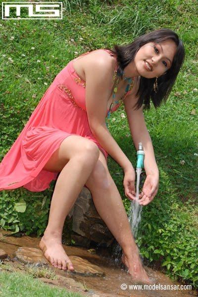 Zenisha Moktan On Swim Wear  All Nepali Actress And -8399