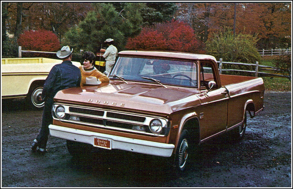 1970 Dodge Pickup Truck Vintage Everyday