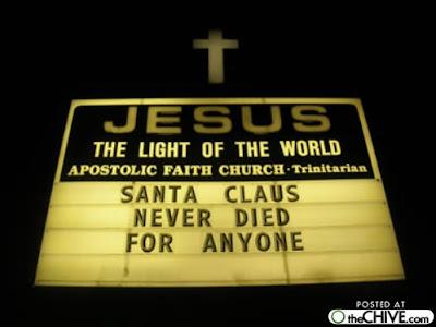 Santa Died Jesus Did