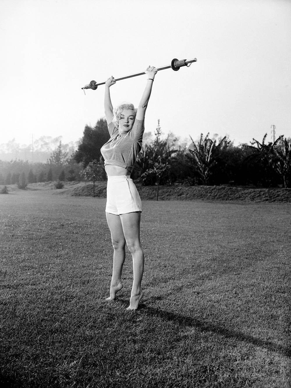 Marilyn Monroe In Sport Vintage Everyday