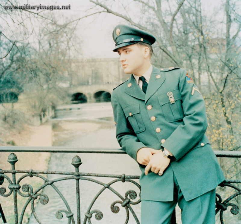 Elvis In The Army Vintage Everyday