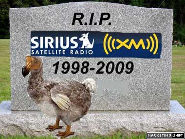 Mine, new sirius radio sucks opinion you