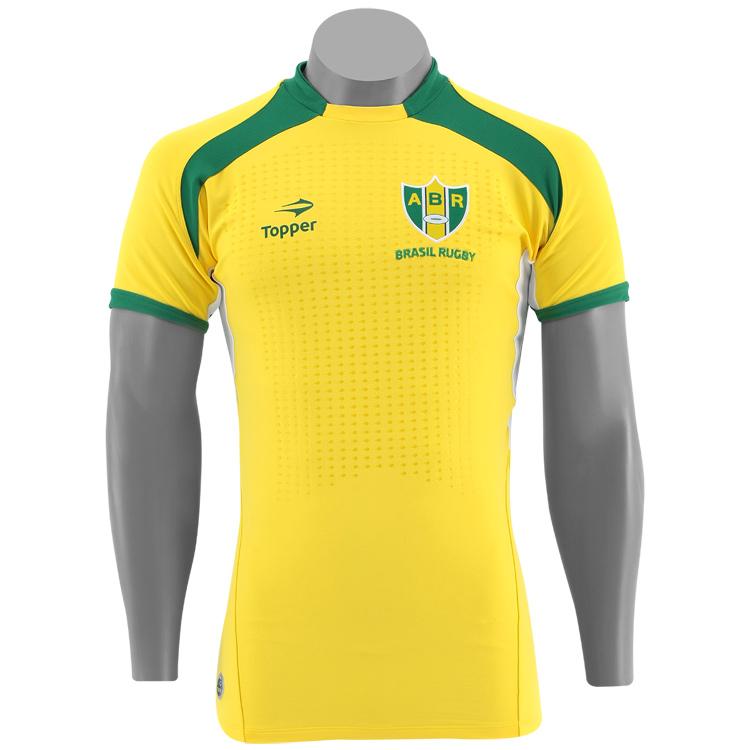 9a4ebd407b Topper lança as camisas da Seleção Brasileira de rugby - Show de Camisas