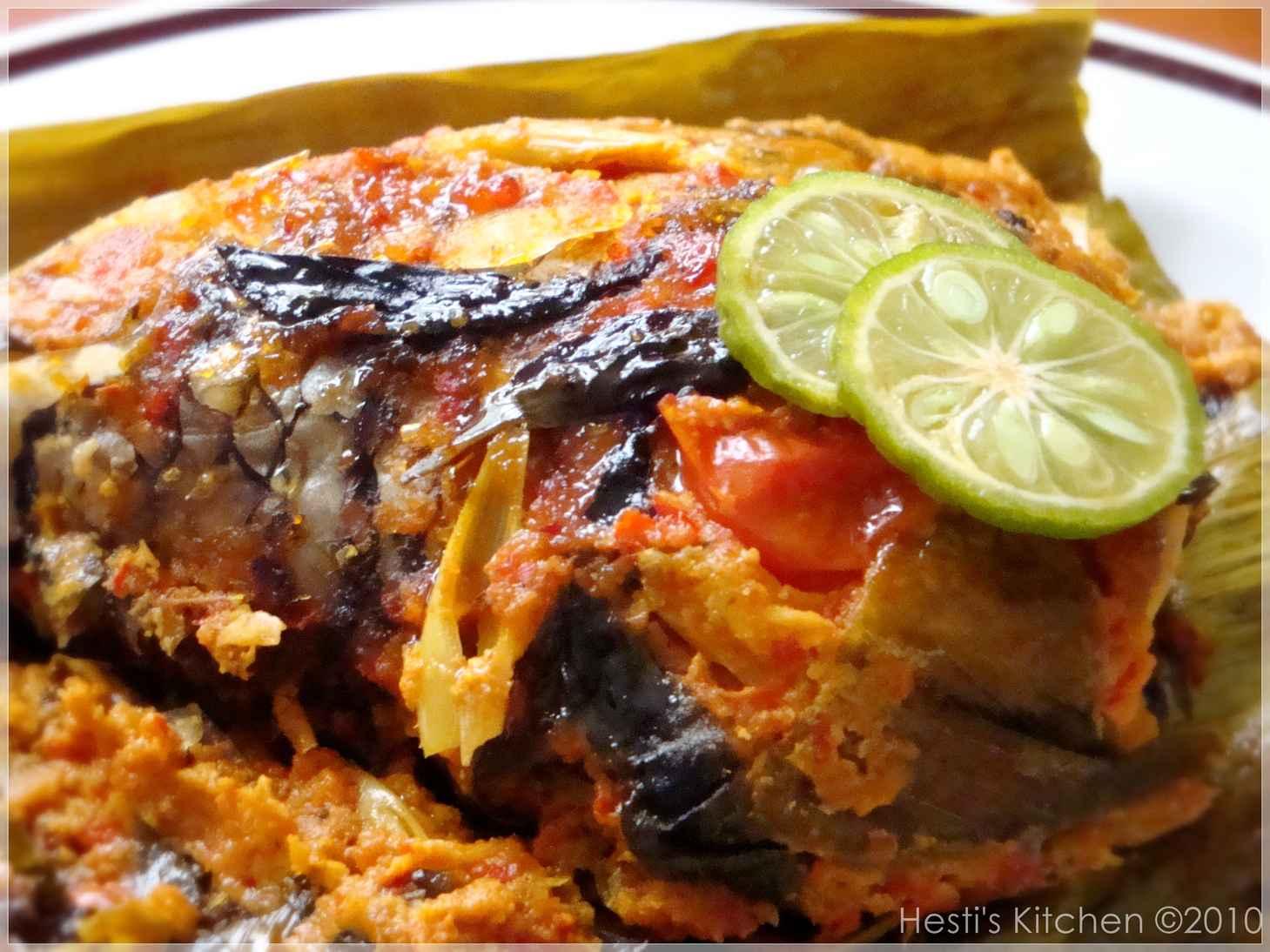 HESTI S KITCHEN Yummy For Your Tummy Pepes Ikan Nila
