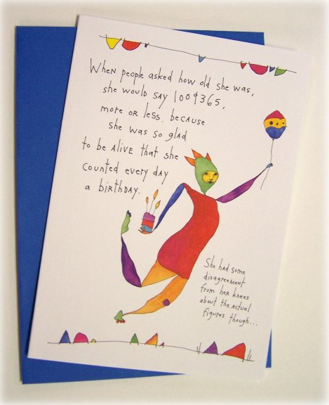 HAPPY BIRTHDAY CARDS FOR OUR BETTER YEARS BEING OLDER
