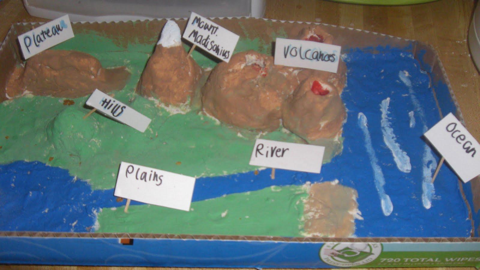 Salt Dough Maps - Page 2