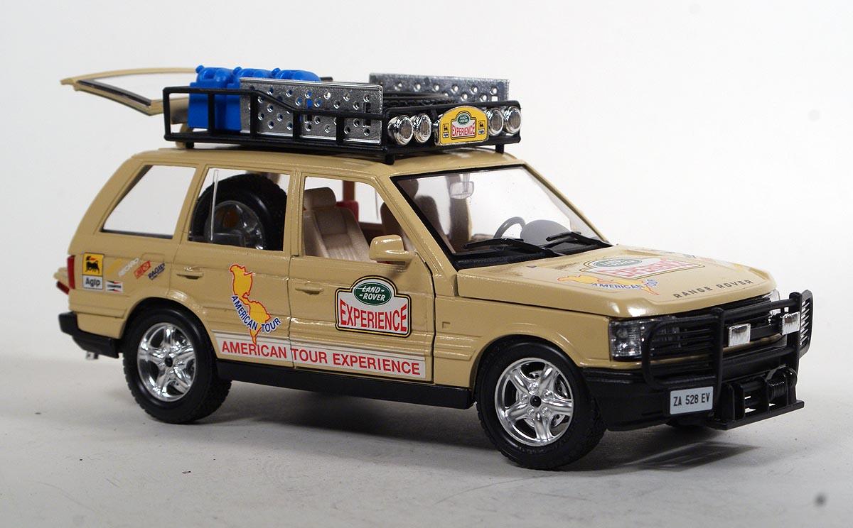 Range Rover 1:24 Burago Zauberartikel & -tricks