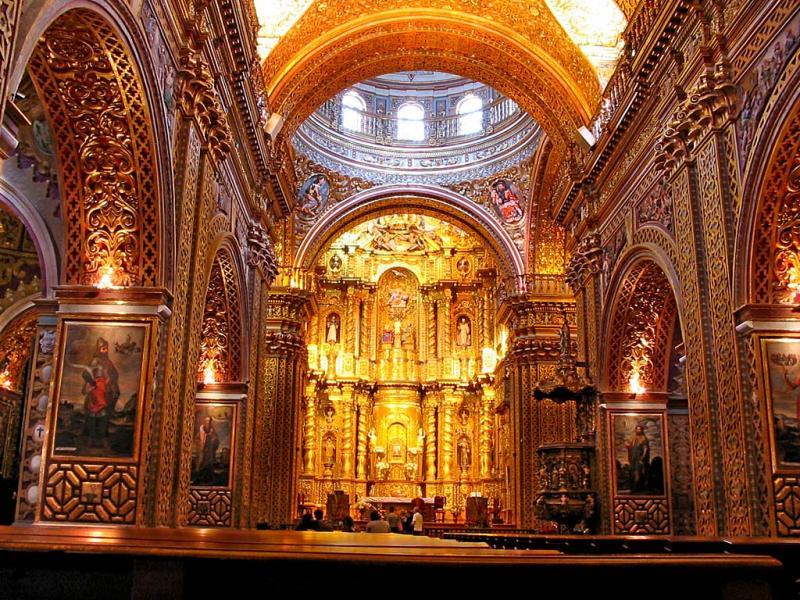 La Iglesia De La Compañía Una Joya Del Arte Barroco En: UIDE- Historia Del Arte Mundial: IGLESIA DE LA COMPAÑIA