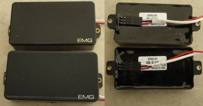 Wiring Diagram For Emg 81 85