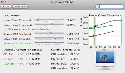 Restart: iMac Fan Control (and MacBook Pro)