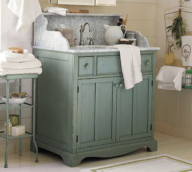 Beau A Bluebonnet In Beantown Master. Provence 60 Inch Antique Cherry Vanity ...