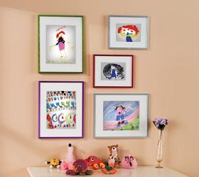 Nursery Notations Displaying Children S Artwork