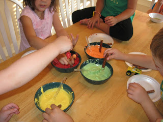 Coloring Edible Paper Sheets For Decorating A Cake