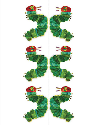 Gourmet mom on the go very hungry caterpillar snack for Very hungry caterpillar templates free