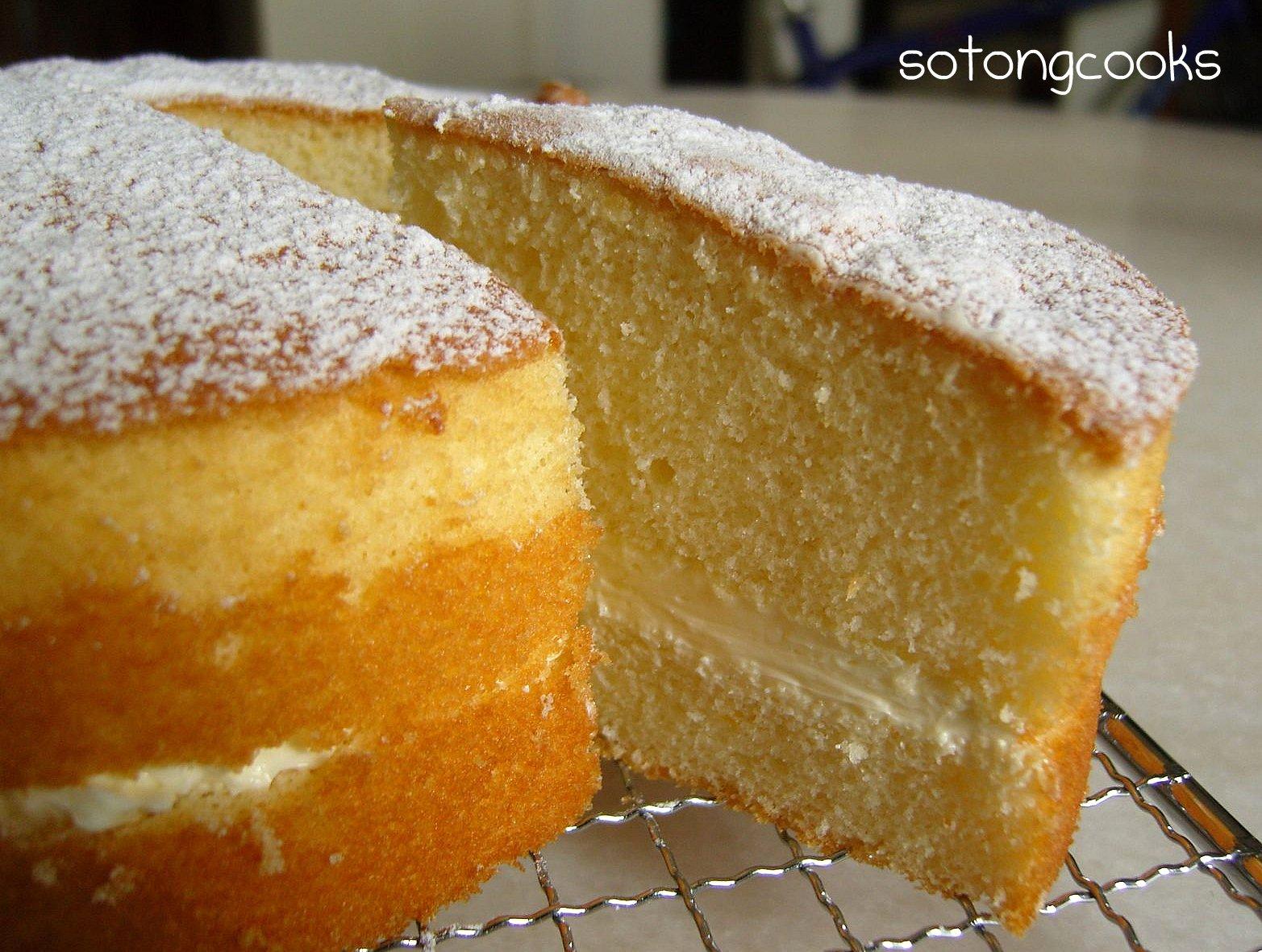 Moist Vanilla Sponge Cake Recipe With Oil