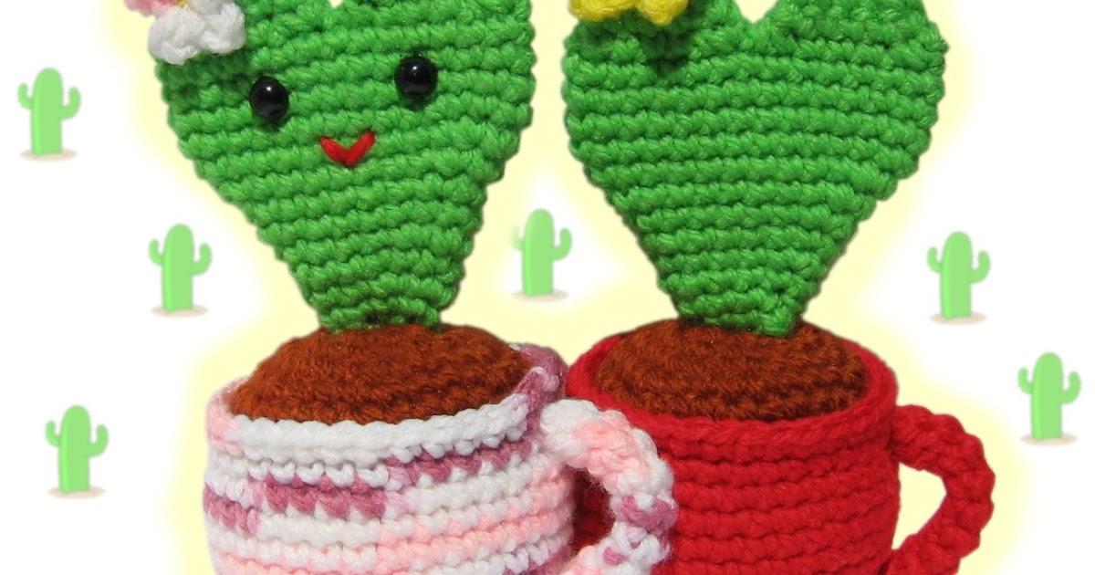 Amigurumi Cactus : Cactus amigurumi patrones gratis