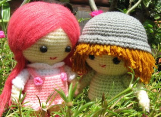 Amigurumi pattern for human figurines
