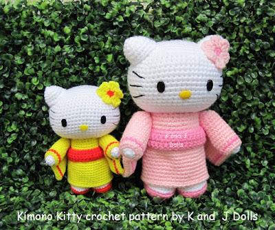 English: Crochet Doll Pattern-Kyoko 恭子 (Kimono Baby)   Crochet ...   334x400