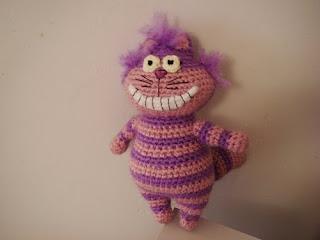 Cheshire Cat Amigurumi : Cheshire Cat by Monosko - Sayjai Amigurumi Crochet ...