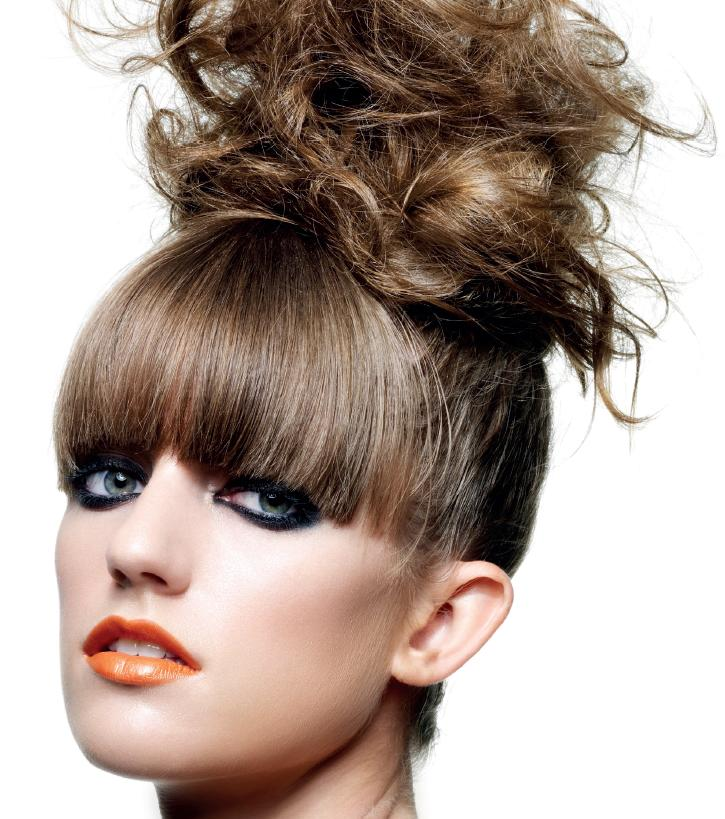 Emma Holder Messy Top Knot