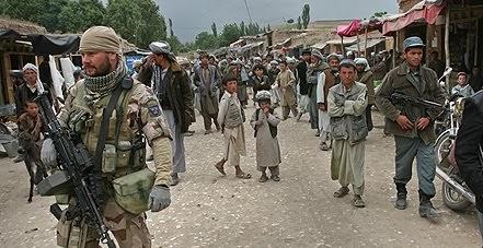 Taliban det finns inga civila