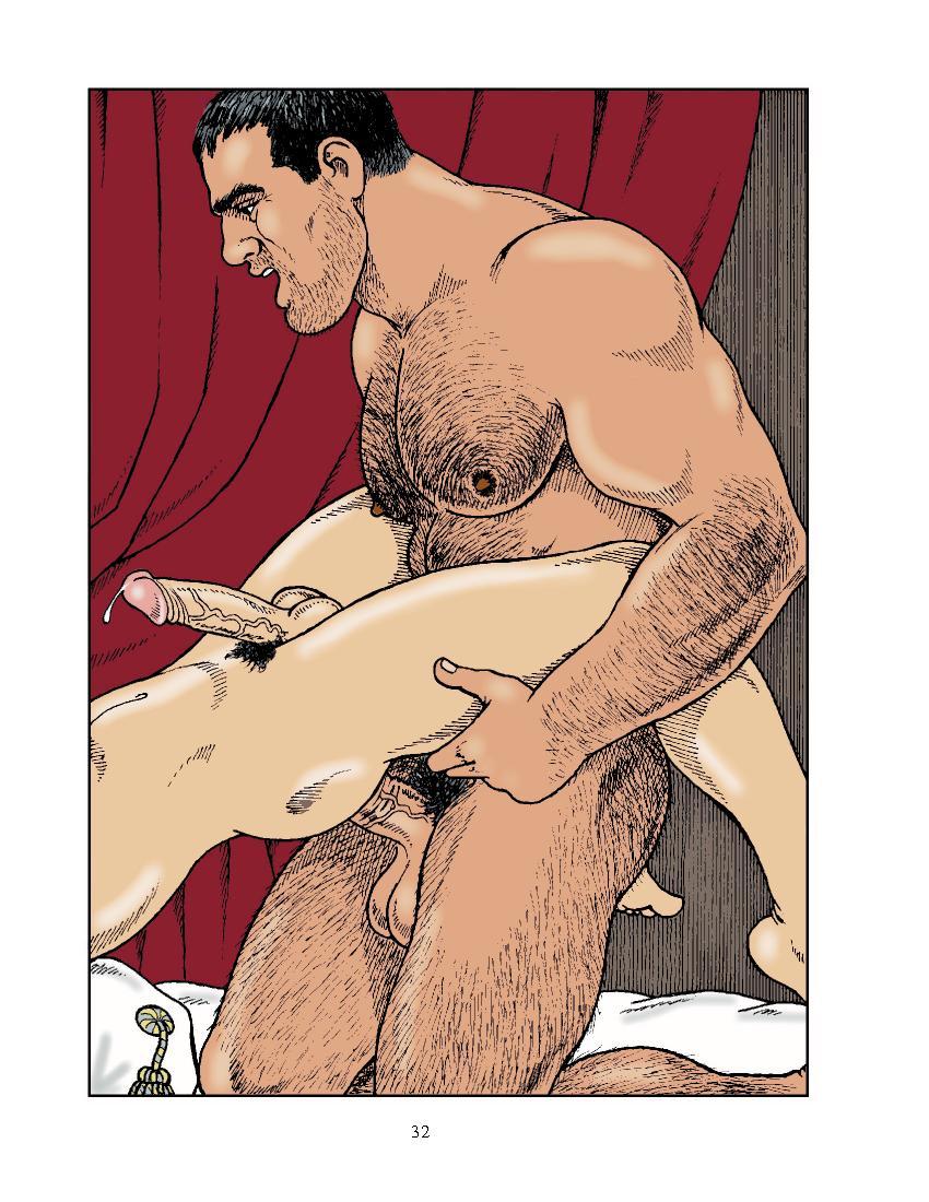 Gay sex art