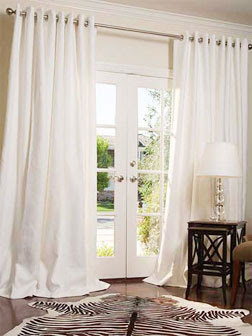 Jpm Design Ikea White Grommet Drapes