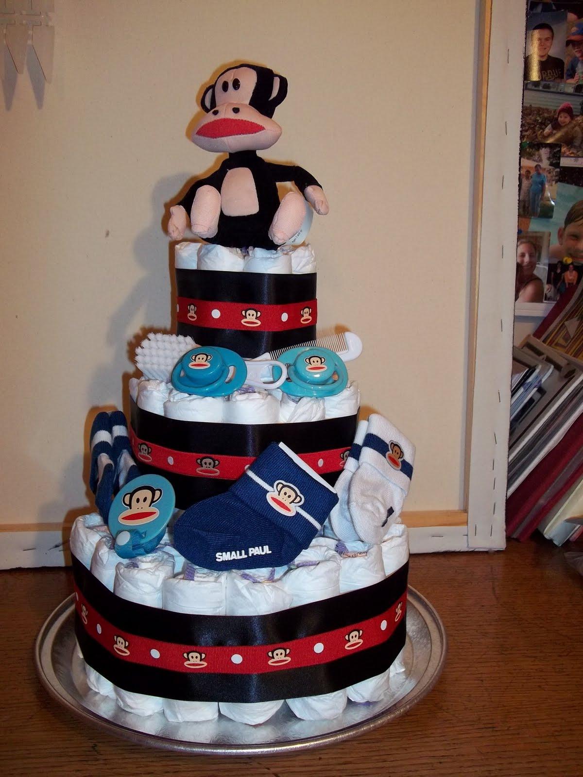 Paul Frank Diaper Cake Candy Holders