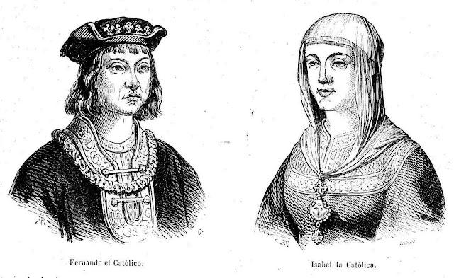 Resultado de imagen de tapiz matrimonio de Isabel y Fernando.