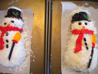 My Farmhouse Kitchen Frosty The Snowman Cake