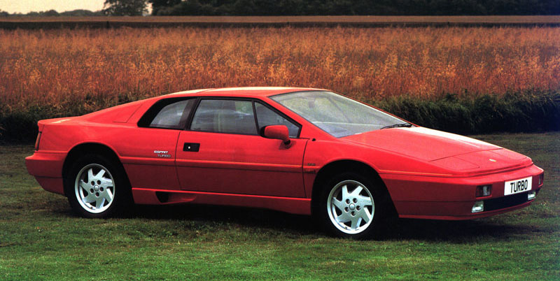 Lotus Esprit Turbo, 1980