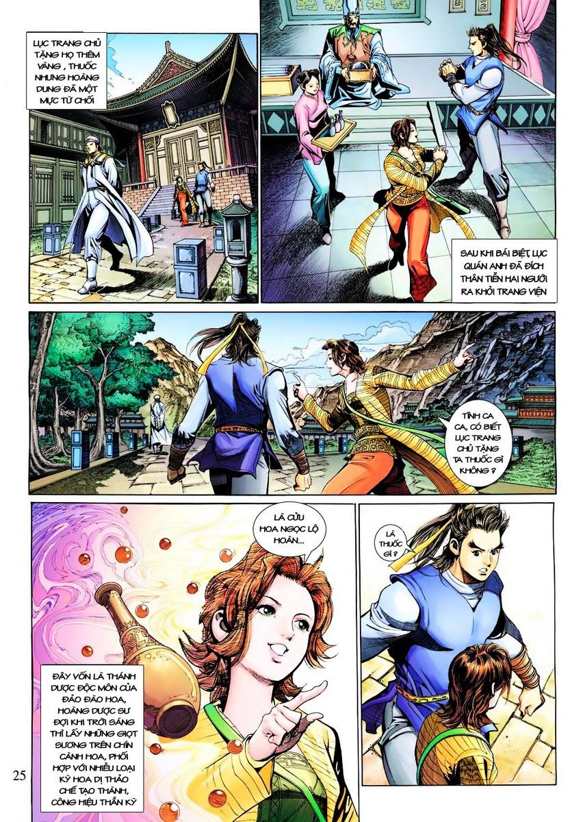 Anh Hùng Xạ Điêu anh hùng xạ đêu chap 29 trang 25