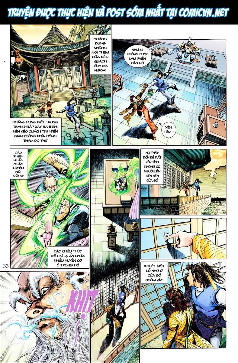 Anh Hùng Xạ Điêu anh hùng xạ đêu chap 29 trang 33