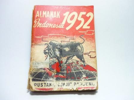 Almanak Indonesia tahun 1952