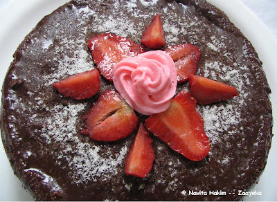 German Strawberry Torte Cake Recipe