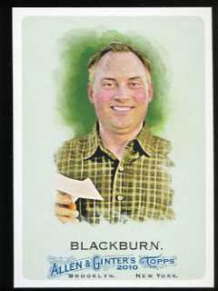 2010 Allen & Ginter Ken Blackburn