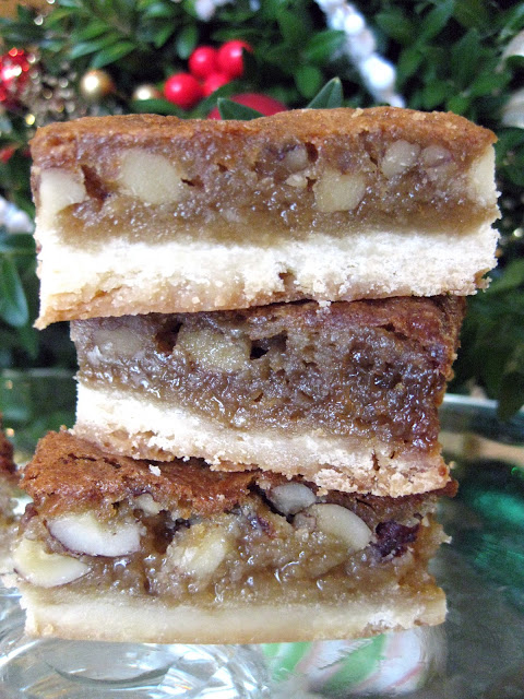 butter tart squares, a delicious butter tart bar recipe
