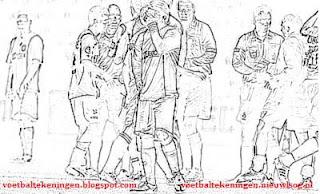 Kleurplaten Ajax Kampioen.Kleurplaat Ajax Sc Heerenveen